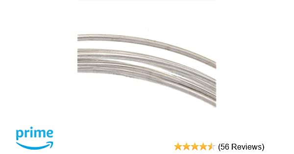 Amazon sterling silver wire 20 gauge round dead soft 5 feet greentooth Choice Image
