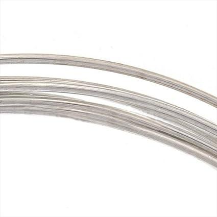 5 Feet Beadaholique Sterling Silver Wire 20 Gauge Round Dead Soft