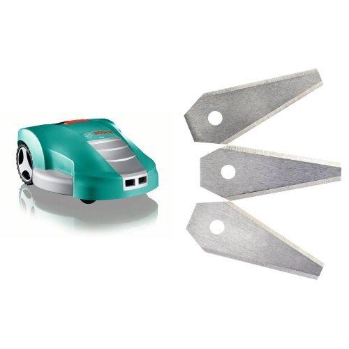 Bosch INDEGO - Robot cortacéspedes, 32,4 V + F.016.800.321 - Pack ...