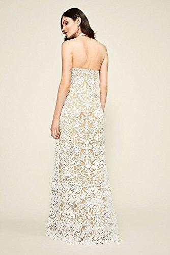 Mariée De Style Robe De Mariée Licol Brodé Sequin Elanor David Azz18014lbr De L'ivoire / Venise