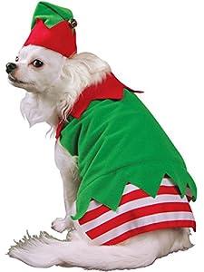 Christmas Elf Dog Costume by Rasta Imposta