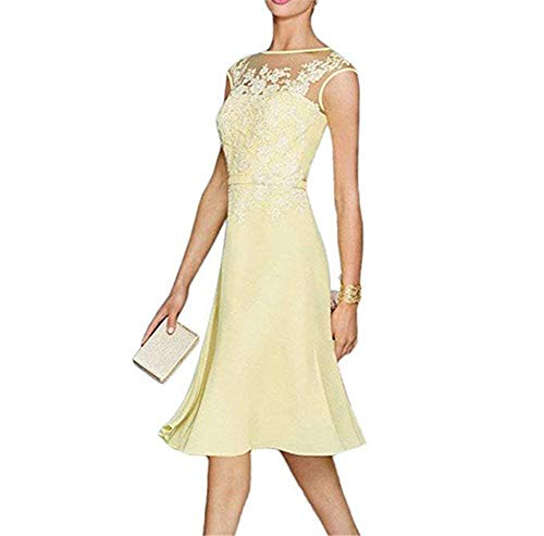 The BOwith Prom Bride White Formal Women Jacket Chiffon Lace Dress Mother Gowns 55qfxr4