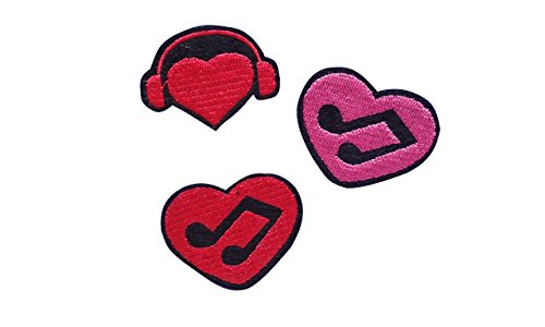 Music Embroidered Patches - 6
