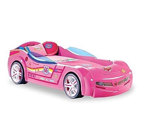 Letto A Forma Di Auto.Letto A Forma Di Auto Da Corsa Cameretta Per Ragazza O Bambina