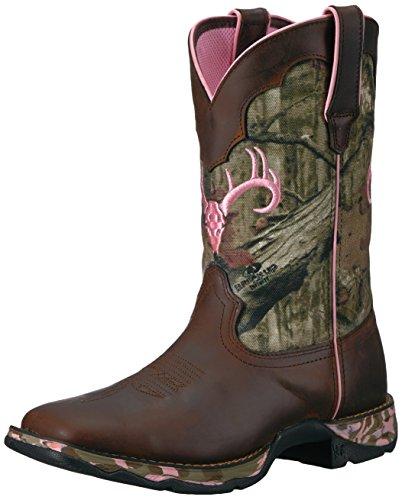 Durango Women's Drd0051 Western Boot, Brown Distressed Brown/Camo