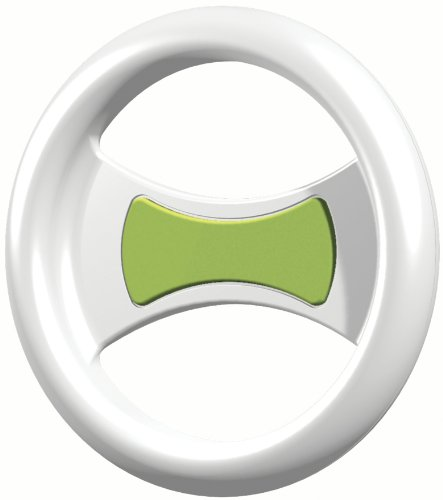 Clingo Universal Game Wheel for iPod, iPhone and Other Mobile Devices – Holster – Retail Packaging – White