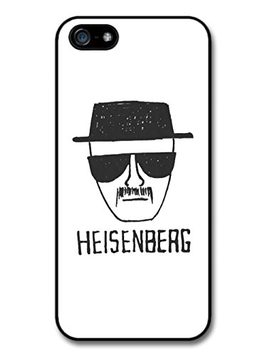 Heisenberg Breaking Bad Walter White Minimalist Illustration coque pour iPhone 5 5S