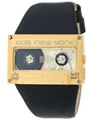 EOS New York 302SBLKGLD Mixtape Black with Gold Watch