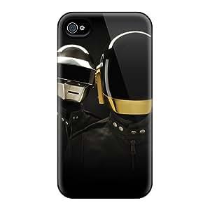 IanJoeyPatricia Iphone 6 Scratch Protection Mobile Covers Custom Fashion Daft Punk Image [HSI4989GWgu]