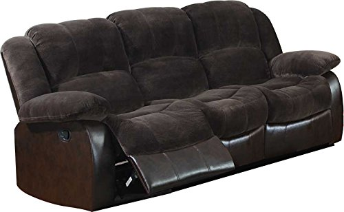 NHI Express Aiden Motion Sofa (1 Pack), Peat
