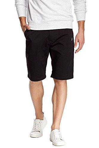 Volcom Mens Vmonty Modern Fit Short 30 Black from Volcom
