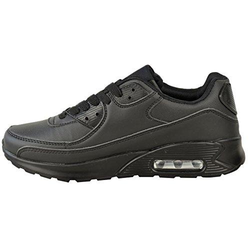 Moda Sedienta Para Mujer Correr Zapatillas Zapatillas De Deporte Gimnasio Shock Absorbing Sports Fitness Zapatos Tamaño Negro De Imitación De Cuero