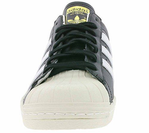... Adidas Menns Super 80-tallet, Black1 / Wht / Chalk2, 8 M Oss ...