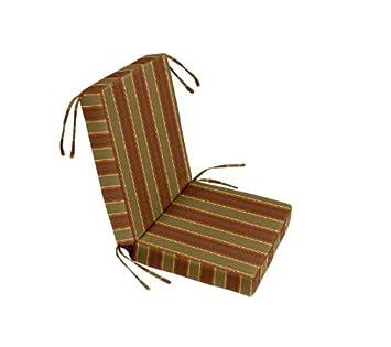 18u0026quot; X 19u0026quot; X 3u0026quot; Sunbrella Chair Seat And Back Cushion Set (