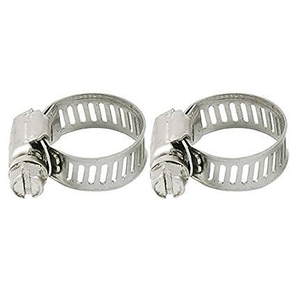 eDealMax tubos de acero inoxidable abrazaderas de manguera ...