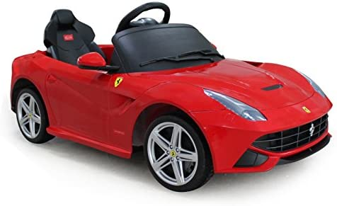 Amazon.com: Vroom Rider Ferrari F12 Rastar 6 V ...
