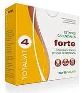 Soria Natural Totalvit 4 Forte Combinación de Multivitaminas y Minerales - 28 Tabletas