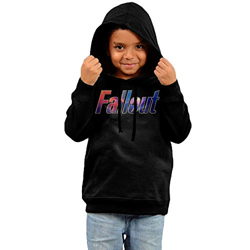 Post Apocalyptic Girl Costume (FGFD Kid's Fallout 4 Game Unisex Sweatshirt Black Size 3 Toddler)