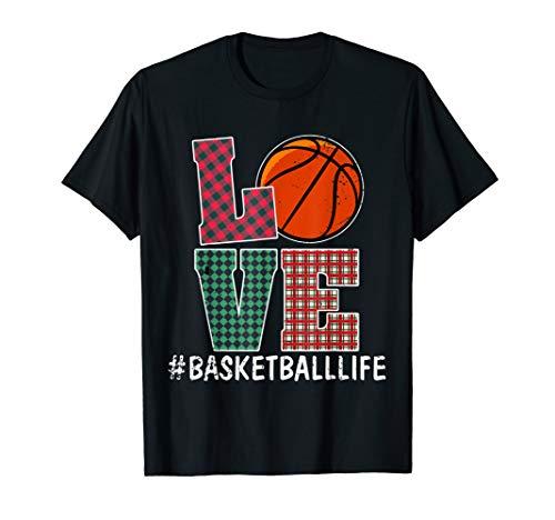 Funny Love Basketball T shirt Women Girl Lovers -