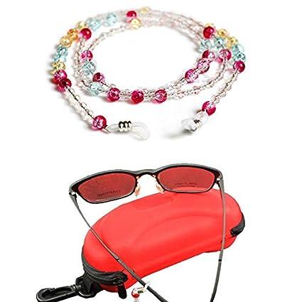 Amazon.com: DFHNJIY 70 cm Gafas De Sol Coloridas Cuentas ...