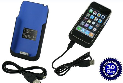 External Backup Battery Case for Apple Iphone Iphone 3g 3g S ()