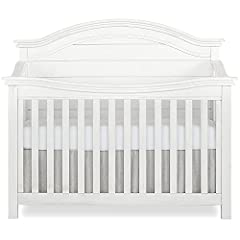 The Evolur Belmar Curve top crib was inspired by white Adirondack chairs on a white sandy beach overlooking the blue horizon on a lazy summer day. This crib adds rustic elements such as shiplap details with singular route lines which curves t...