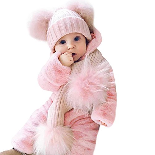 Bunny Ear Onesie, Misaky Newborn Baby Hooded Romper Outfits Props Costumes