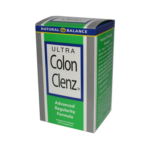 2 Packs of Natural Balance Ultra Colon Clenz - 60 Vegetarian Capsules