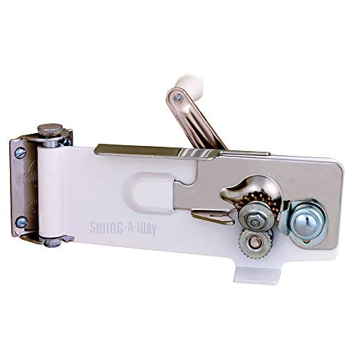 SWING-A-WAY WALL MOUNT CAN OPENER - MAGNETIC LIFTER - SWING