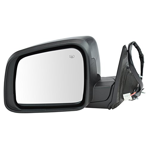 Mirror Power Heated Signal Memory Black Driver Side Left LH for Durango