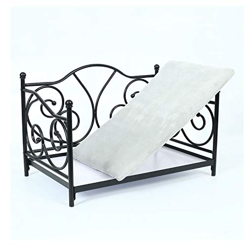 (LiRongPing DIY Wrought Iron Pet Bed, Indoor Washable Cat Nest, Environmentally Friendly, Universal for Four Seasons, Suitable for Pets Up to 20 Kg)