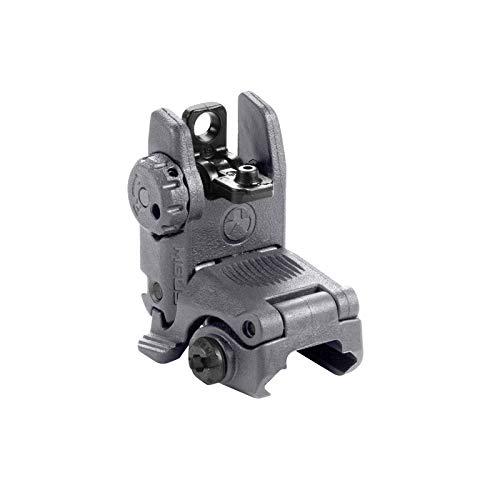 Magpul MBUS Flip-Up Backup Sights, Gray, Rear Sight
