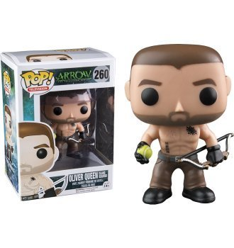 Funko Pop! Television #260 Arrow Oliver Queen Island Scarred