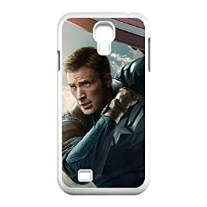 Samsung Galaxy S4 9500 Cell Phone Case White Captain America 2 puls