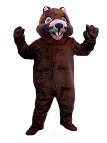 [Mascots USA by CJs Huggables Custom Professional Gopher Mascot Costume] (Gopher Costumes)