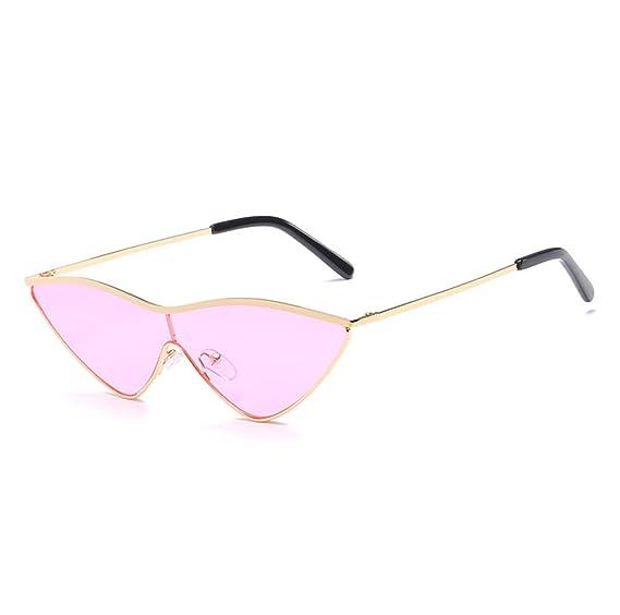HAOYUXIANG Sonnenbrille Europa und Amerika Fashion Ocean Sonnenbrille Sonnenbrille Dreieck Rahmen Unisex ( Farbe : C7 ) 1VDIlPhX