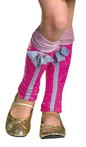(Disguise Princess Winx Flora Leg Warmers Theme Party Halloween Costume)