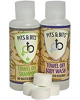Pits & Bits Small Wash Kit - Transparent Unisex