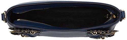 Love Moschino Borsa Vitello Smooth Blu - Borse a spalla Donna, (Blue), 6x16x28 cm (B x H T)