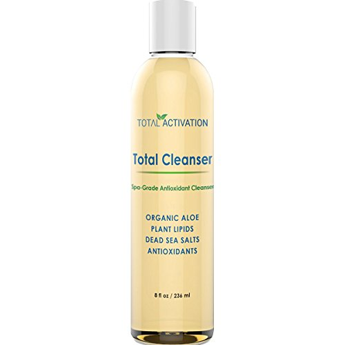 Exfoliator and Cleanser Gel for Face and Body, Get your Glow on with this Exfoliator for Sensitive Skin, Dry or Oily Skin for Men and Women, Total Effects Body Wash, ()