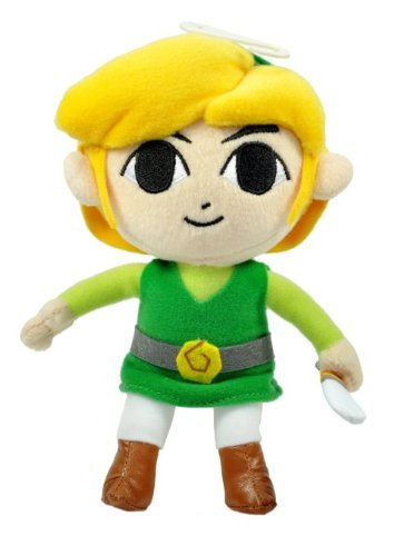 """Used, Little Buddy Official Zelda Plush - 7"""" Link for sale  Delivered anywhere in USA"""