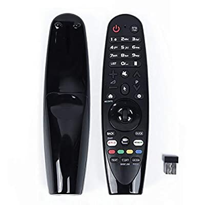 Universal Replacement Remote Control AN-MR18BA AN-MR600G AN-MR650 for All 2018 4K UHD Smart LG TV Magic Remote Control OLED65W8PUA OLED77W8PUA OLED43W8PUA OLED49W8PUA OLED50W8PUA OLED55W8PUA