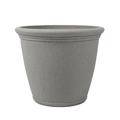 Concrete Round Planter - 8