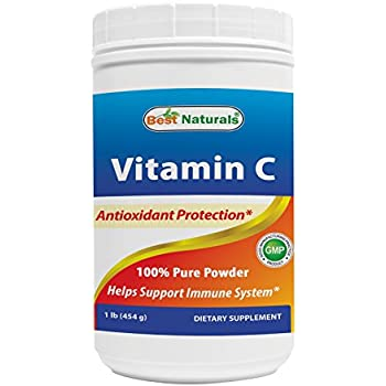 Amazon Com Now Foods Vitamin C Crystals Ascorbic Acid 1