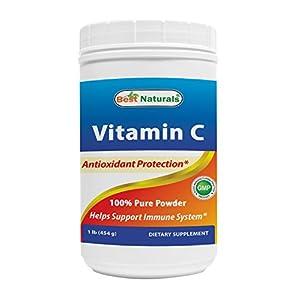 Best Naturals 100% Pure Vitamin C Powder 4 OZ (113.5 grams) Powder (Also Called Ascorbic Acid)
