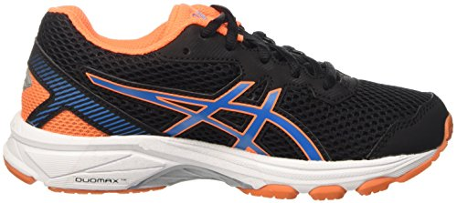 Asics Gt-1000 5 GS, Zapatillas de Gimnasia Unisex Niños Nero (Black/Blue Jewel/Hot Orange)