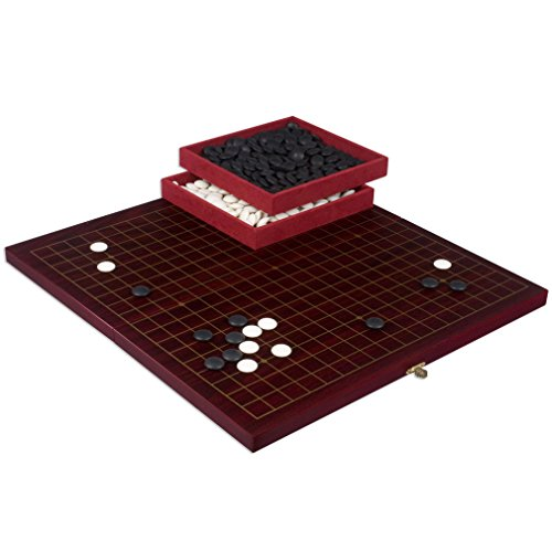 go-game-set-w-folding-dark-cherry-veneer-rosewood-board-and-melamine-stones
