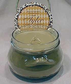 Signature Scent (Tyler Glass Jar Candle - 22 oz Long Burning Scented Candle - Signature Tyler Scent)