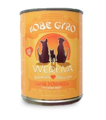 "WERUVA INTERNATIONAL, INC. - DOG KOBE GYRO 12/13.2OZ ""OTHER PET FOODS - WERUVA DOG CAN"""