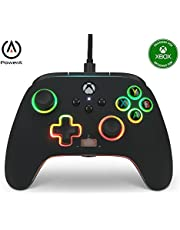 PowerA Spectra Infinity Enhanced Wired Controller for Xbox Series X|S, Gamepad, Wired Video Game Controller, Gaming Controller, Xbox One, Officially Licensed - Xbox Series X